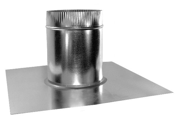 Round Vent Base – Flat Roof