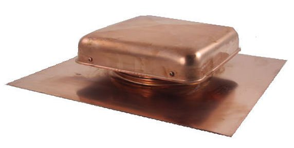 Copper Roof Vent - 38 sq. in. Net Free Area