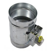 Motorized HVAC Damper – Normally Closed