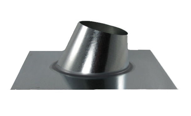 B-Vent Pipe Flashing - Adjustable 0-6/12 Pitch-0
