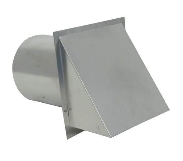 Galvanized Wall Vent with Damper-0